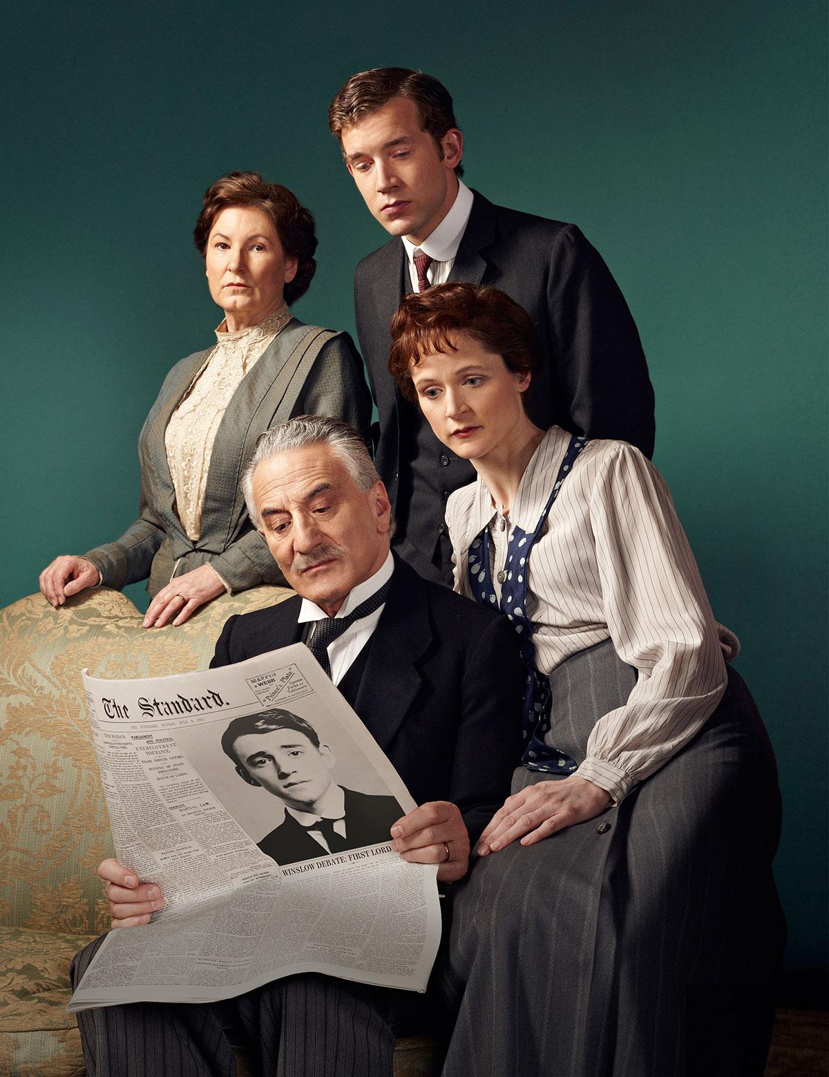 winslow boy In terence rattigan's play, based on a real-life incident, an english father fights  to clear his son's name after he is expelled from boarding school, accused of.